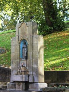 St Annes Well - with continuous spa water