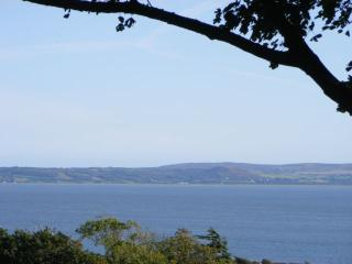 Panoramic view towards the Gower, Constantly changing tides and weather