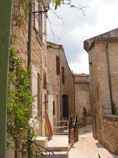 Loose yourself in Barjac's winding medieval streets