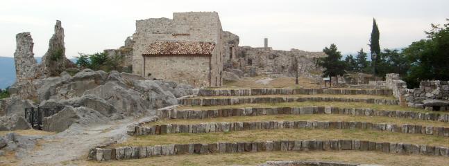 Medieval ruins at Gessopelena