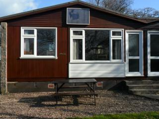 Holiday chalet at Penstowe Park in Kilkhampton near Bude on North Cornish coast