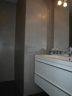 Modern Shower room fittings.