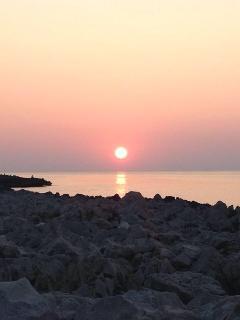 tramonto a marina di Cinisi