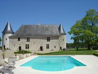Outbuildings (totally renovated) of a Loire castle, rented in complete privacy.