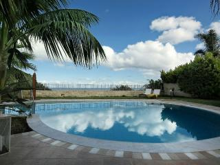 Pool aerea with seaview