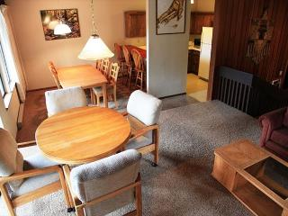 Large & light 4 bedroom 2 bath condo walking distance to Canyon Lodge., Mammoth Lakes