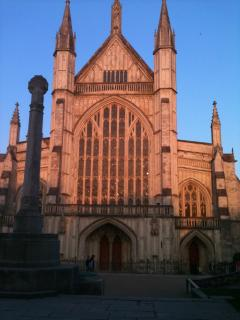 Winchester Cathedral, walking distance from The Pavilion holiday house