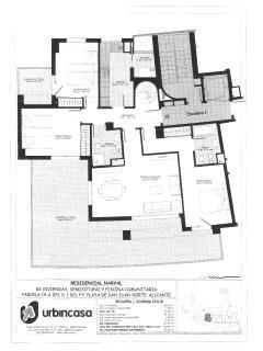 Apartment plan + terrace