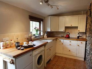 The Kitchen - fully fitted with everything you need for cooking your own meals.