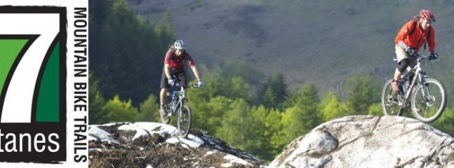 Mountain Biking at Kirroughtree