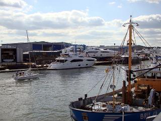 Poole Quay Sunseeker