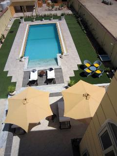 Roof tof pool view