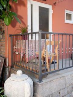 Balcony from studio of Jardin property