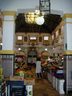 Indoor Market in Lebrija