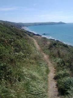 The coast path