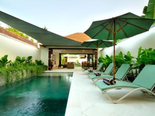 Ideal for families with safe pool area: VILLA PALM GARDEN: Cool Bali Villas