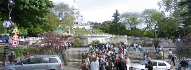 front Sacre Coeur (Montmartre)