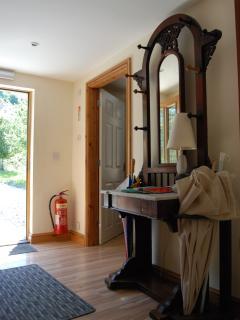 Hen Ysgubor's hallway/cloakroom