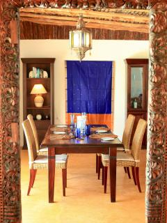 Matemwe Beach House - Dining Table
