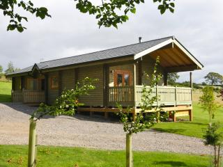 Rowan Log Cabin with Hot Tub, Hudswell
