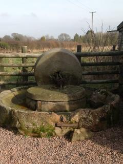 Original Cider press situated at the front of the property