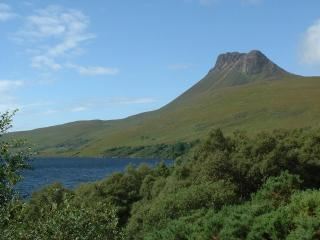 Stac Pollaidh in the Inverpolly Nature reserve