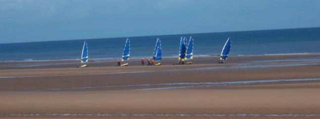 Sand yachting - you've got to try it!