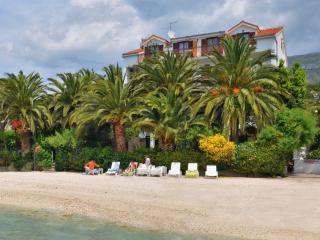 Villa from the beach