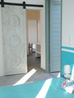 chambre 3, 2 lits de 90 avec cheminée et dressing