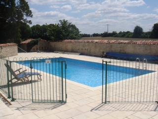Pool with Safety Wall and Fence