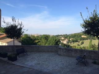 Small new apartment in a tiny medieval village, Marche