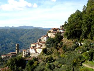 The View from Casa Verde with its comanding position & view of Vellano