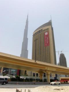 The Address Dubai mall building