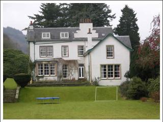 Ormidale House - sleeps 30, pool, hot tub, sauna, Glendaruel