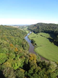 THE view of Symonds Yat from the rock