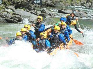 white water rafting which can be done in summer