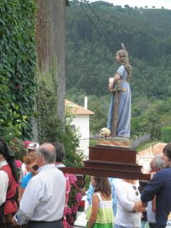 The Village Procession with religious icon
