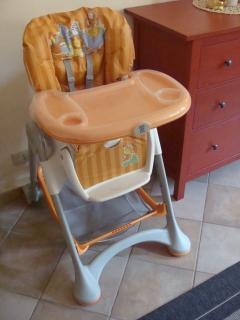 The highchair for babies
