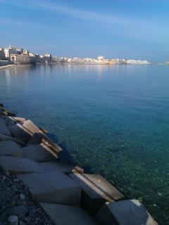 Trapani on the seaside