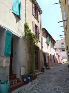 Alley in the Faubourg area
