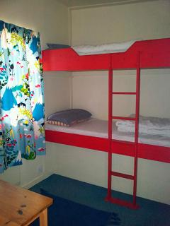 Children's bunk bed room