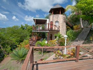 The Sugar Mill Tower - 3 levels of decks, a private plunge pool, surrounded by lush gardens
