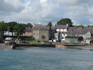 View of house from the ferry