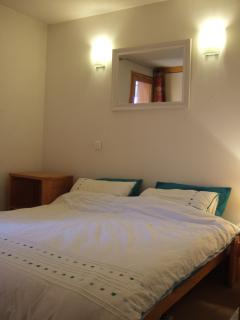 bedroom - can be made up as 1 double or 2 single beds