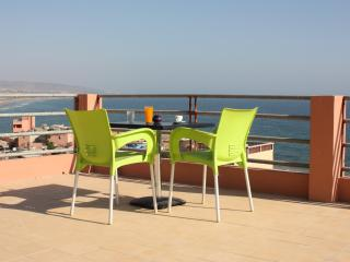 Panoramic view from your private roof terrace.