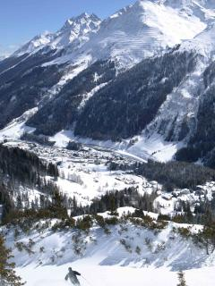 Ideal family skiing in Les Houches