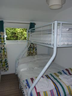 Upstairs Triple Bunk Room