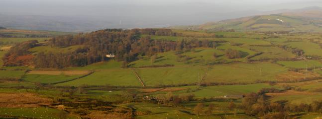 Plas yn ial as viewed from the mountain opposite