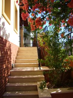 Outside View : Steps leading to Balcony/Terrace