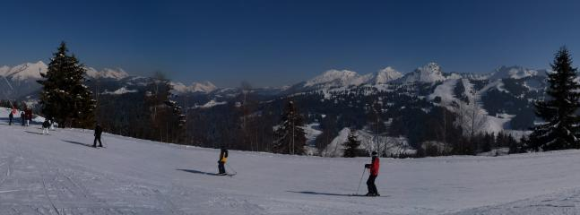 Local area Morzine / Les Gets (January 2012)